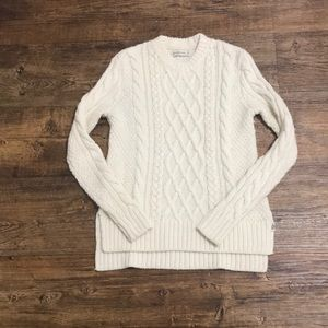 A&F Cable Knit Sweater